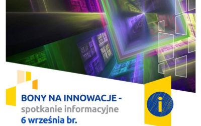 """przed nami ostatnia runda naboru wniosków w konkursie """"bon na innowacje"""""""