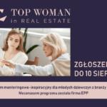 Startuje program mentoringowo-inspiracyjny  dla młodych dziewczyn z branży nieruchomości. Mecenasem programu została firma EPP