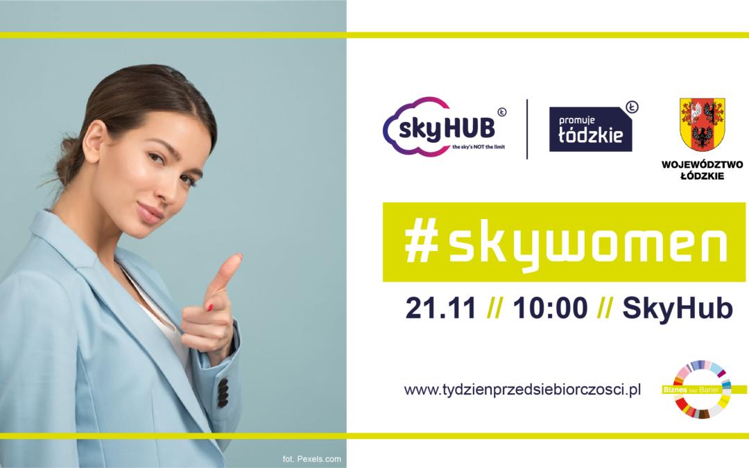 sukces jest kobietą – #skywomen